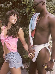 Seventies babe fucked by a black guy