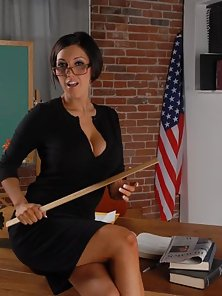 Slutty School Teacher Dylan Ryder Does Dad