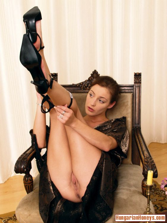 Dildo women in heels