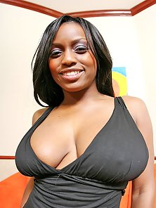 Big natural tits ebony getting fucked hard