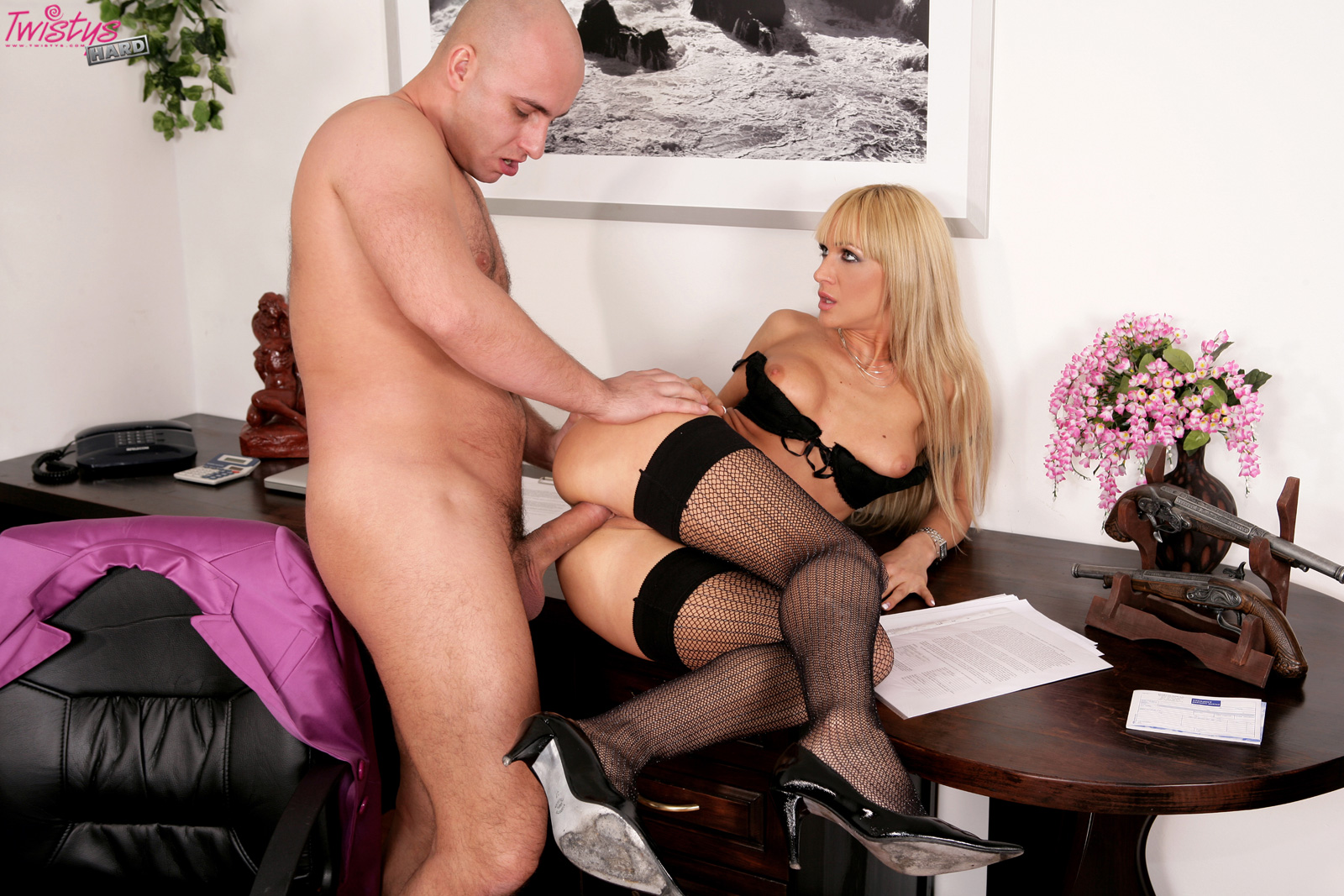 image Cherry gives her husband ruckus an anal attitude adjustment