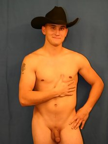 This delicious looking stud loves cock and his country