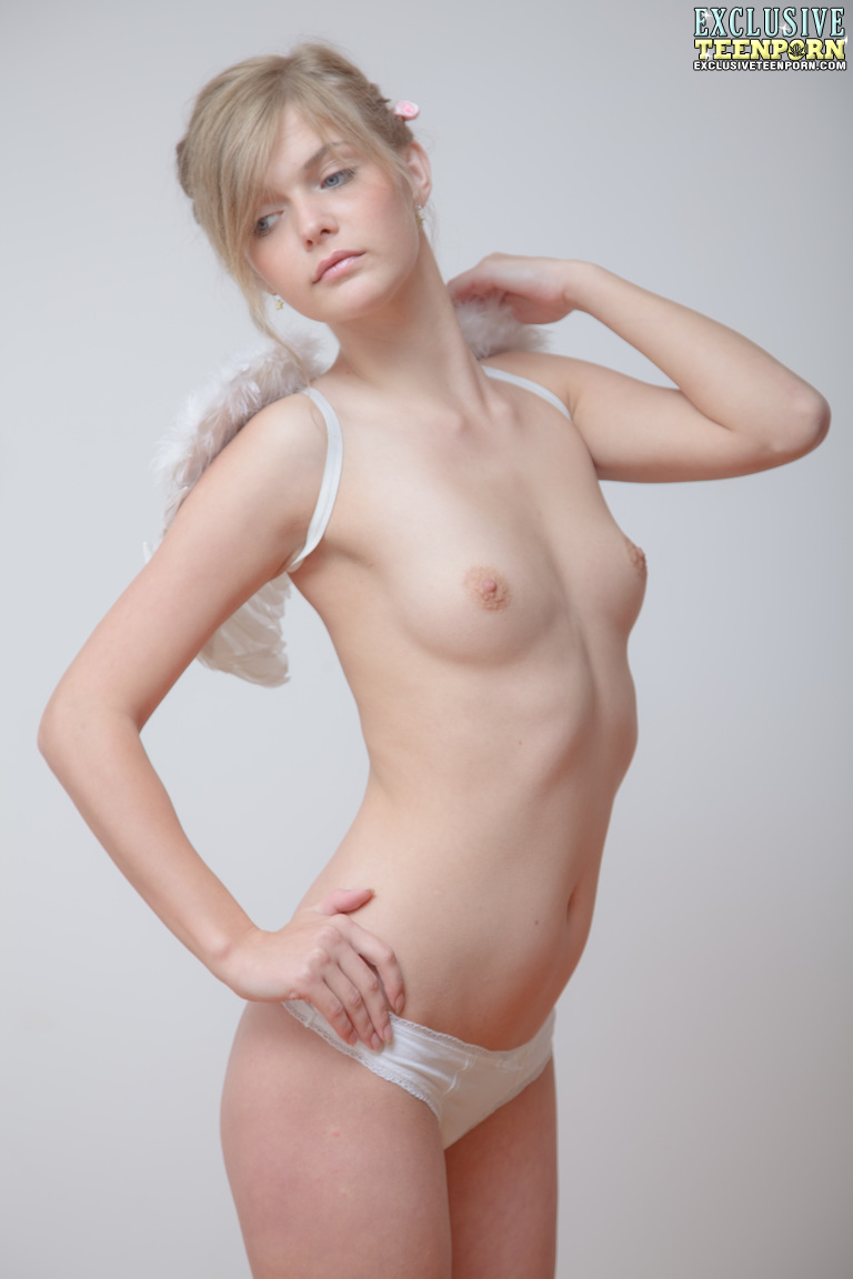 Sweet little nude angel opinion obvious