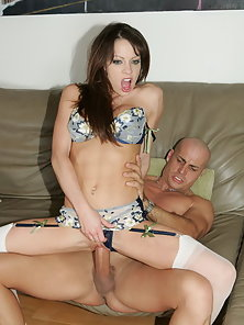 Big titty Vanessa gets her ass ravaged by horny stud and jizz shot