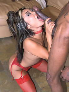 Small breasted asian chick gets a black penis in her cunt