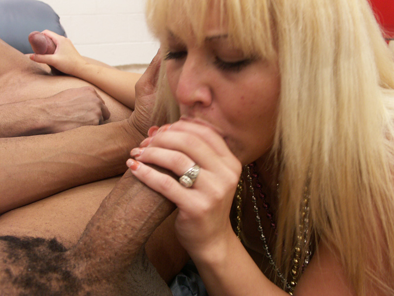 Two Blonde Babes Share The TV Producer's Massive Shaft