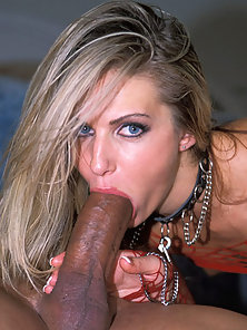 Ashley Long getting a huge penis stuffed into her ass hole