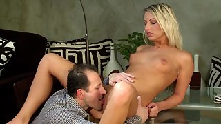 Missy is up for just about any kind of coitus this casting director has in mind