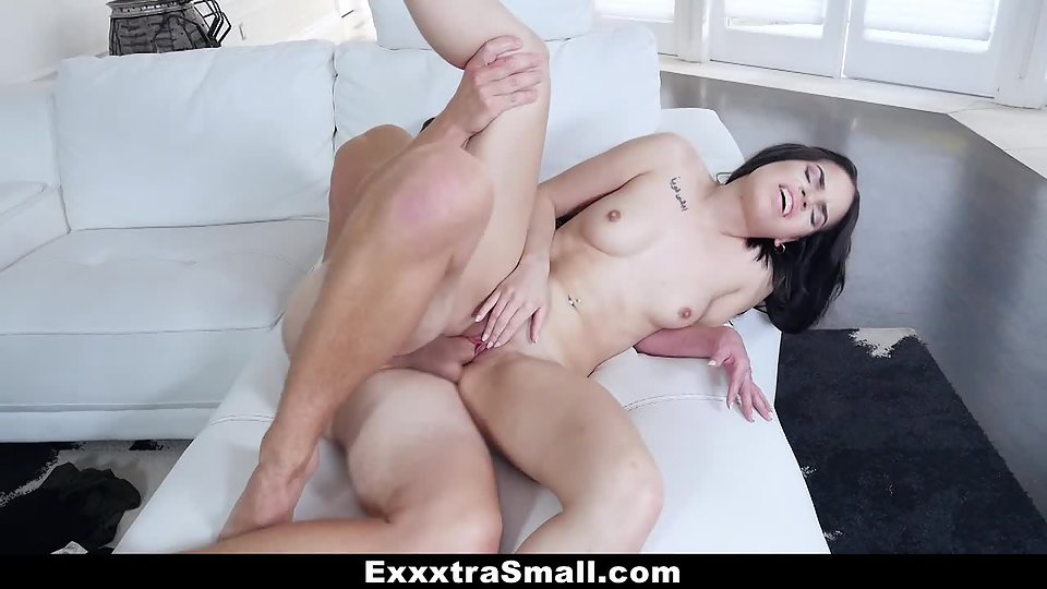 Small Boobs Girl Tory Bellamy Takes Slamming Pleasure from Her Dude
